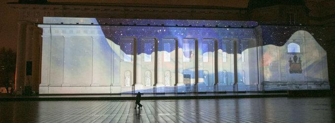 Šių metų kalėdinė pasaka ant Katedros – apie stebuklingą elnio devyniaragio kelionę