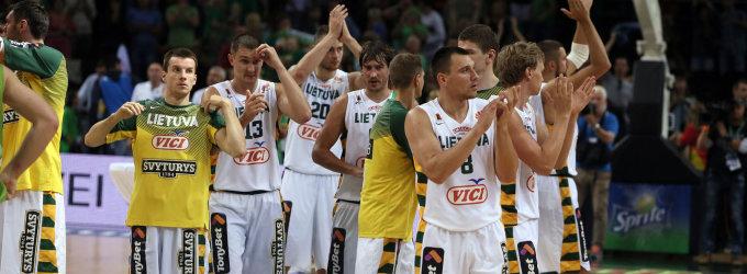 Lietuvos rinktinė pradeda turnyrą Liublianoje: po pirmojo kėlinio Lietuva – Brazilija 18:22
