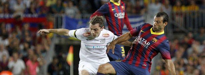 """Javieras Mascherano aplenkė Lionelį Messi """"Barcelona"""" metų žaidėjo rinkimuose"""