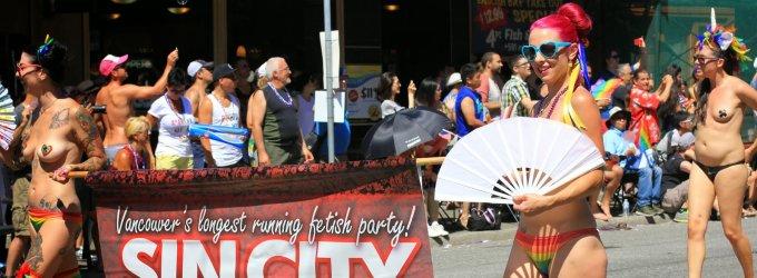 Rasos nuotykiai Kanadoje: 15. Gėjų paradas Vankuveryje – šventė visiems
