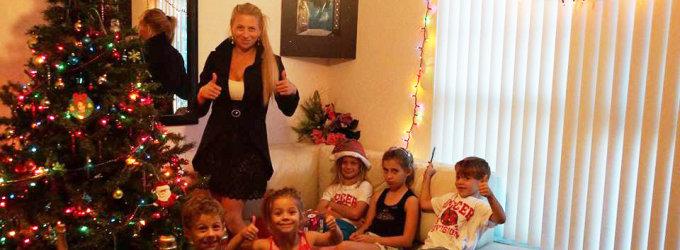 Mano Kalėdos: Erika Santos Majamyje kūčiukus pirko rusų parduotuvėje