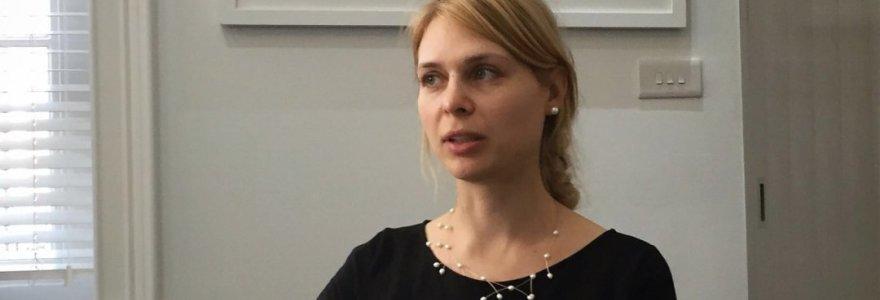 """Investicijų ekspertė Londone Justė Zabarskaitė: """"Saugiausios profesijos išnyks pirmos"""""""