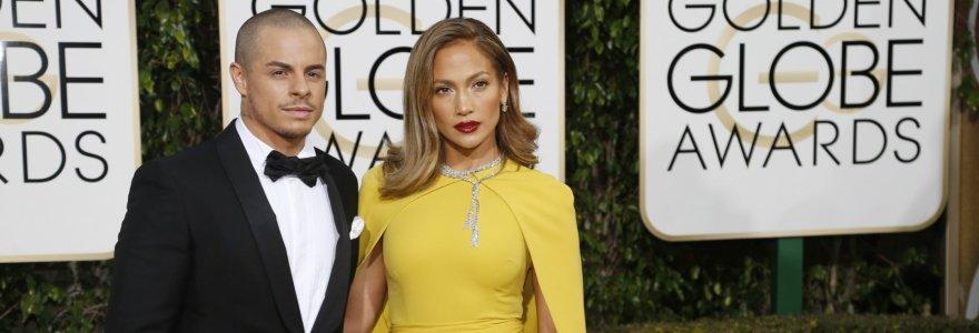 Jennifer Lopez išsiskyrė su 18 metų jaunesniu Casperu Smartu