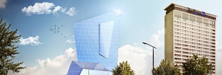 Danielio Libeskindo pasiūlytas statinys Vilniaus centre: vardas nugalėjo turinį?