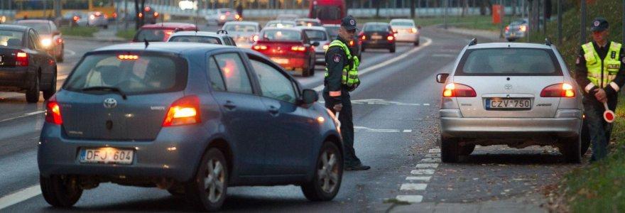 Vilniuje A juostomis gudruoliai greitai nebegalės aplenkinėti automobilių spūsčių