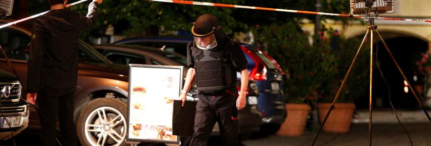 Muzikos festivalio metu Vokietijoje siras susprogdino bombą kuprinėje