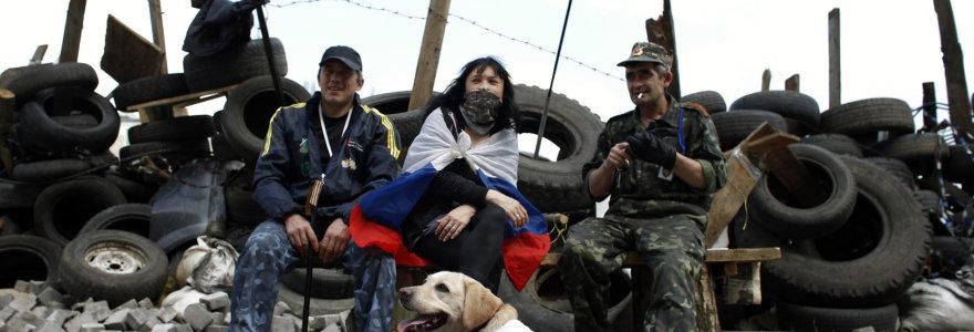 Donbasas – akmuo, kybantis po Rusijos kaklu