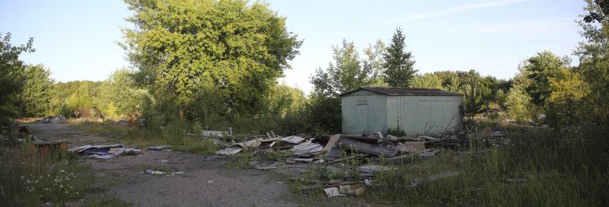 Vilniečio skundas: iš 300 garažų Lazdynėlių gatvėje nepavogta tik 80