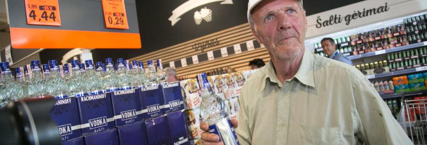 Nuo rugsėjo prekybininkai reikalaus asmens dokumentų iš visų alkoholio pirkėjų