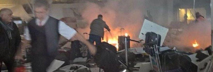 31 gyvybę nusinešęs išpuolis Stambulo oro uoste: pasirodė vaizdo įrašas, kaip pašaunamas 1 iš 3 savižudžių sprogdintojų