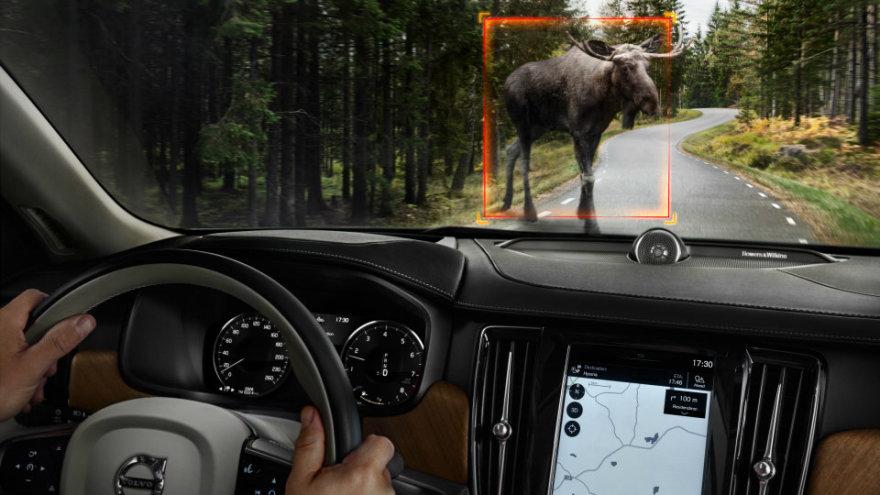"""""""Volvo"""" diegs naują saugumo sistmą"""