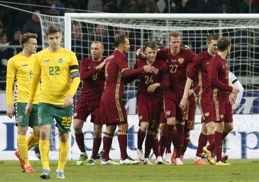 Kontrolinės rungtynės: Lietuva – Rusija