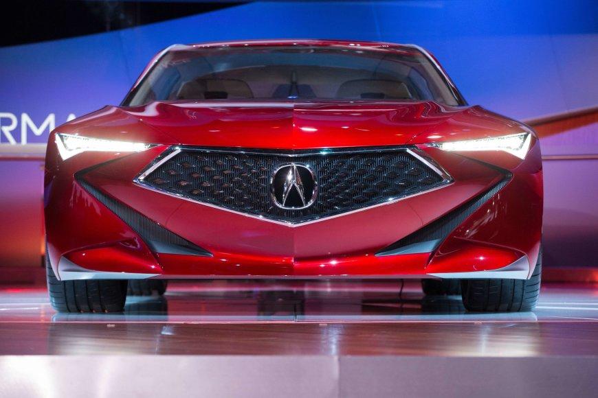 "Detroite pristatyta ""Acura Precision"" koncepcija"