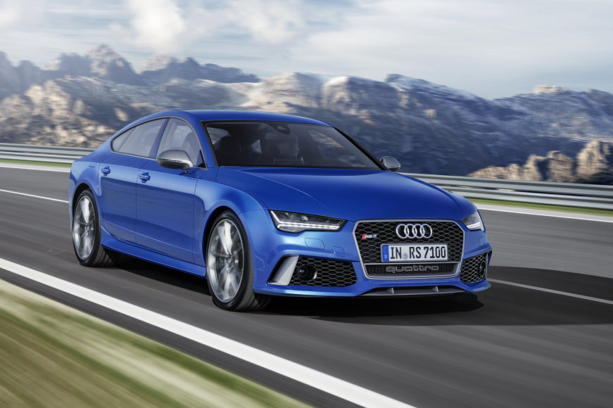 """Audi RS7 Sportback performance"""