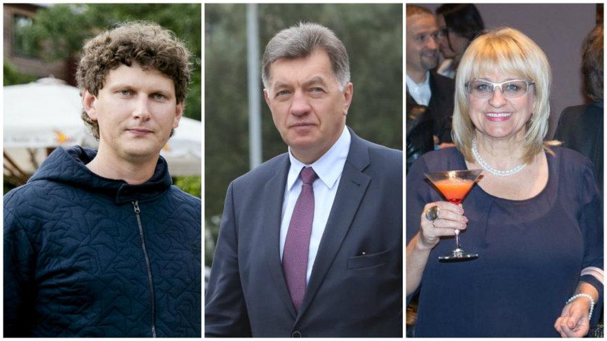 Evaldas Vaitasius, Algirdas Butkevičius ir Dalia Kutraitė-Giedraitienė