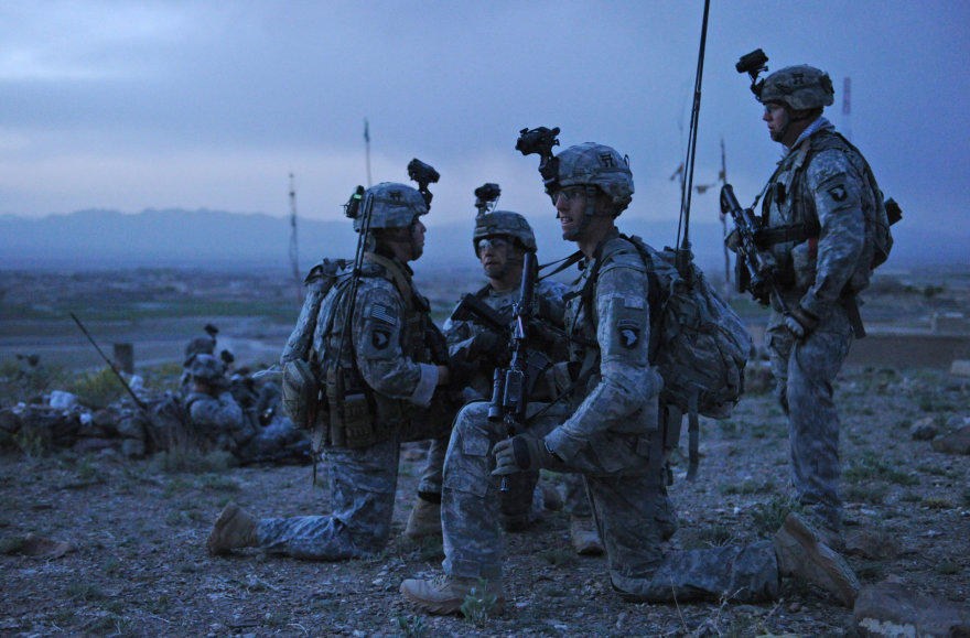 101-osios oro desanto divizijos kariai