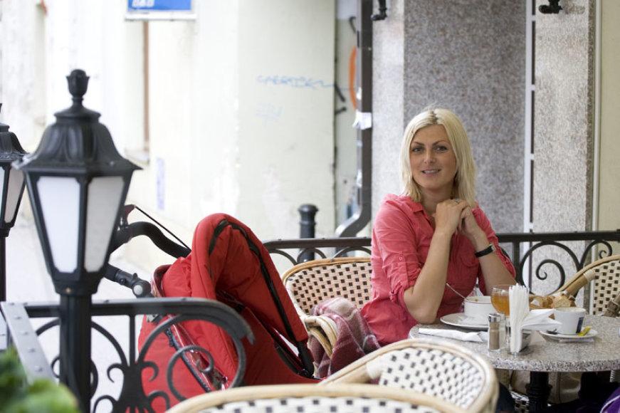 Foto naujienai: Eglė Jackaitė: tikiu, kad geriausia – prieš akis