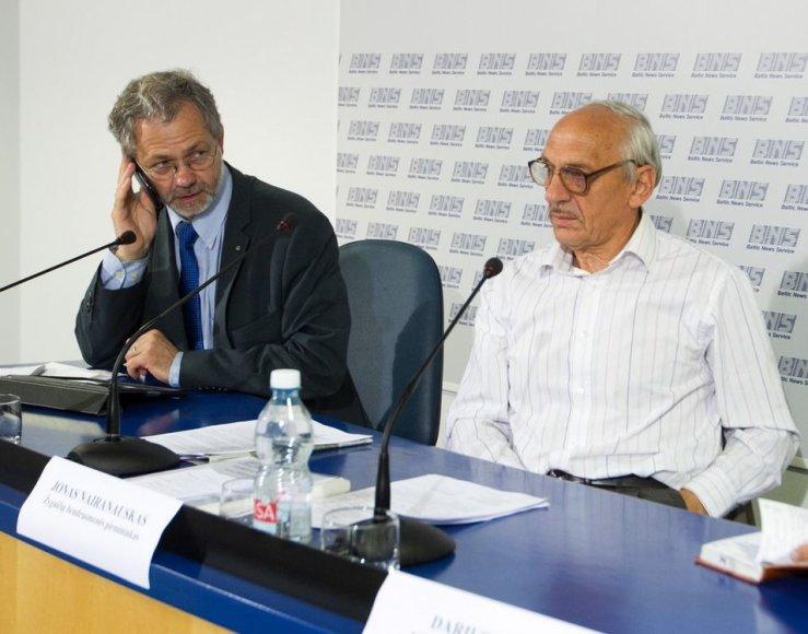 Linas Balsys ir Jonas Nairanauskas