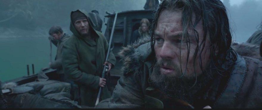 """""""Scanpix""""/Xposurephotos.com nuotr./Leonardo DiCaprio filme """"The Revenant"""""""