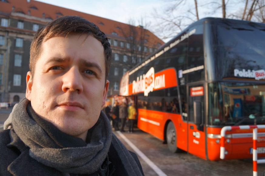 Marijaus Gailiaus nuotr./Per Lenkiją bene labiausiai apsimoka keliauti autobusais