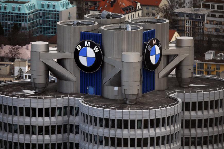 """Scanpix"" nuotr./BMW administracinis pastatas Miunchene"