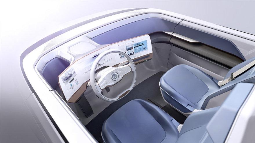 """Volkswagen BUDD-e"" konceptas"