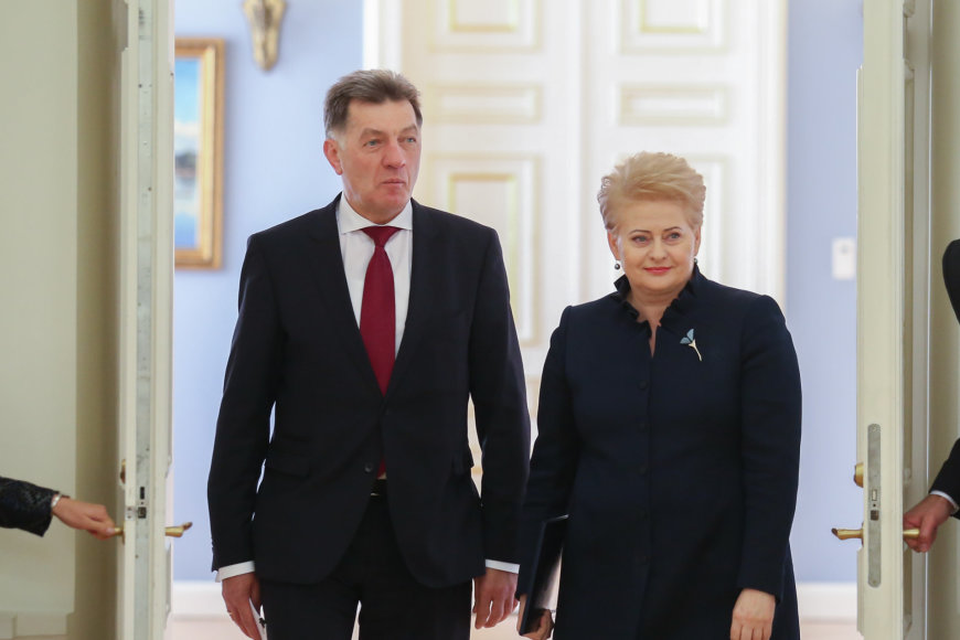 Dalia Grybauskaitė ir Algirdas Butkevičius