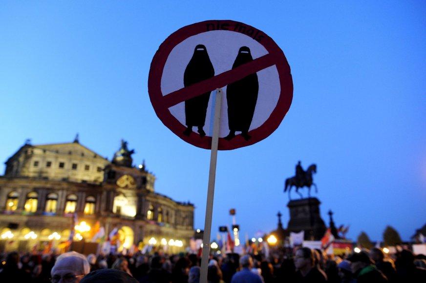 Antiislamiškas mitingas Vokietijoje