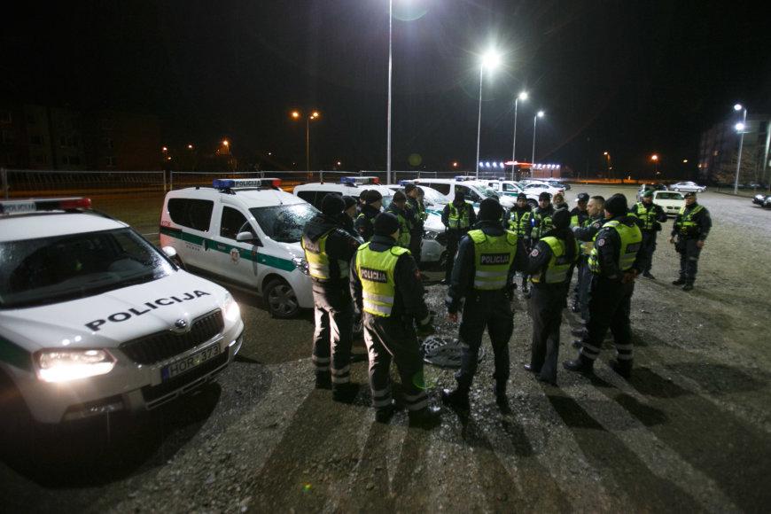 Policijos pareigūnai
