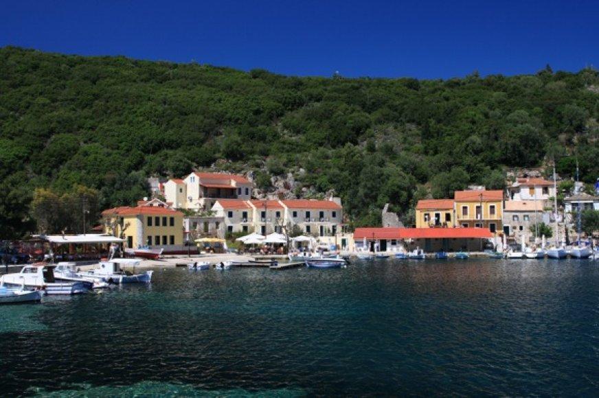Graikijoje galite rasti ir tokių jaukių vietelių, toli nuo turistinių centrų.