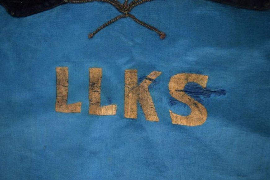 Aukcione siūloma įsigyti Lietuvos partizanų vėliava