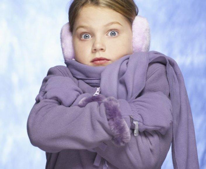 Sušalusi mergaitė