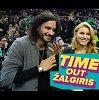 """#TimeOutŽalgiris. """"Laukinukės"""" serialo žvaigždės įspūdžiai """"Žalgirio"""" arenoje"""
