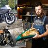 """Išskirtinius motociklus kuriantis Klaudijus Štelmokas: """"Žmogaus gyvybe neeksperimentuoju"""""""