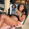 Serena Williams nustebino savo bikiniu ir poilsio namais Jamaikoje