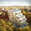Nauji apartamentai Vilniaus senamiestyje – su 50 kv. metrų terasomis