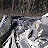 """""""Audi"""" avariją išgyvenęs keleivis: """"Ėjom 160 km/val., o po smūgio buvau atsijungęs 10 minučių"""""""