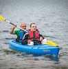 Kauno neįgalieji Lampėdžiuose išbandė baidares